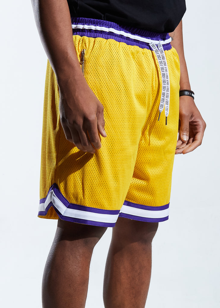 Finals Basketball Shorts (Yellow)