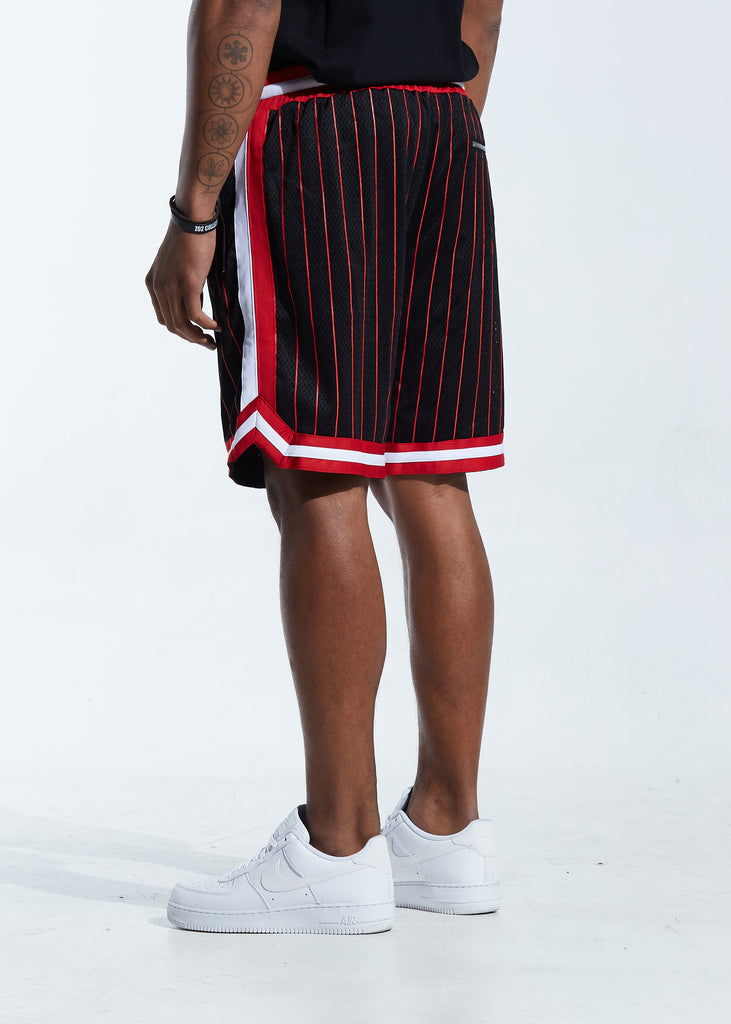 Buckets Basketball Short (Black/Red)