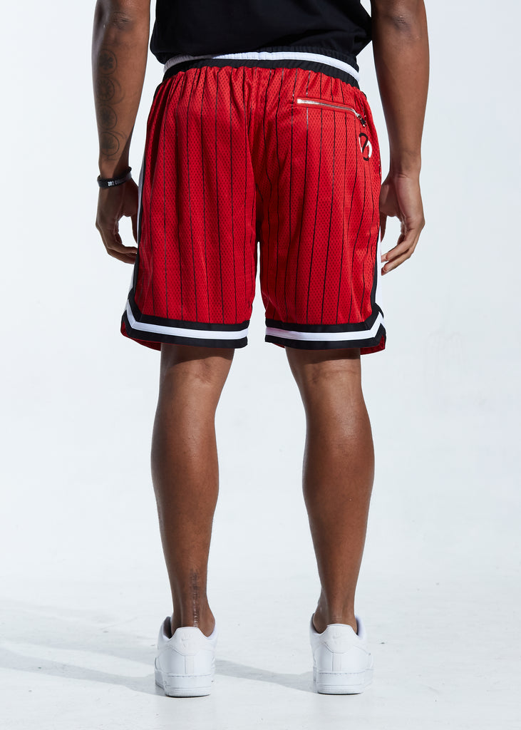 Buckets Basketball Short (Red/Black)
