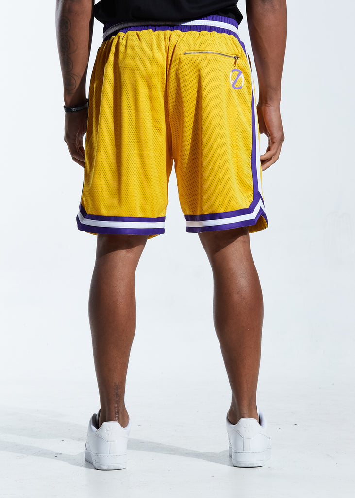Buckets Basketball Short (Yellow)