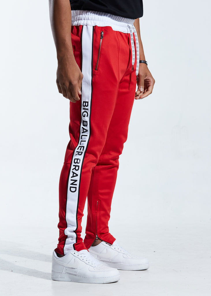 Overtime Track Pants (Red)