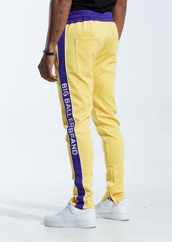 Overtime Track Pants (Yellow)