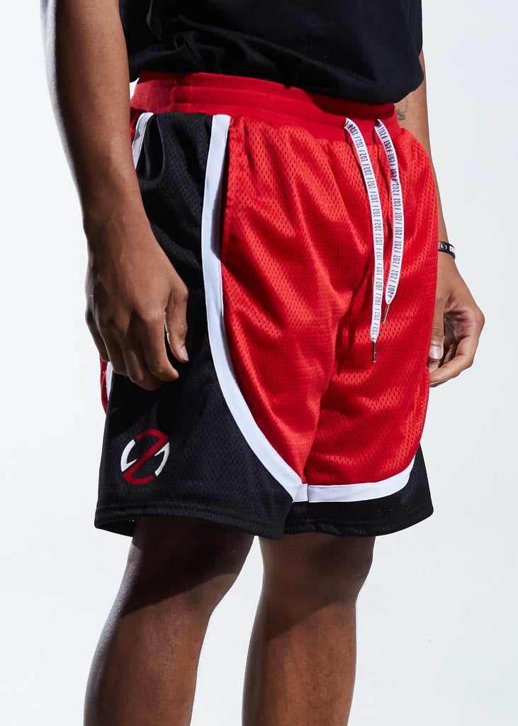 Motion Basketball Short (Red)