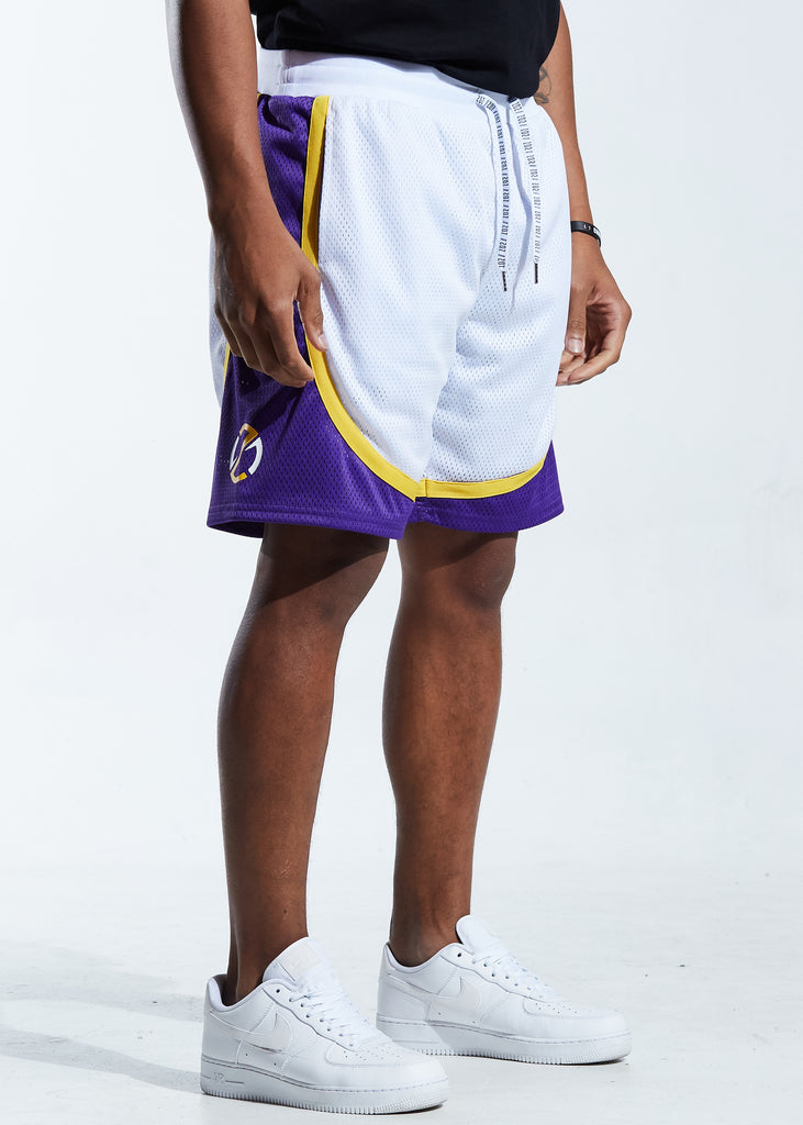 Motion Basketball Short (White)