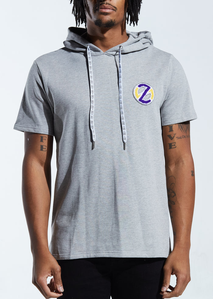 Swish SS Pullover Hoodie (Heather Grey)
