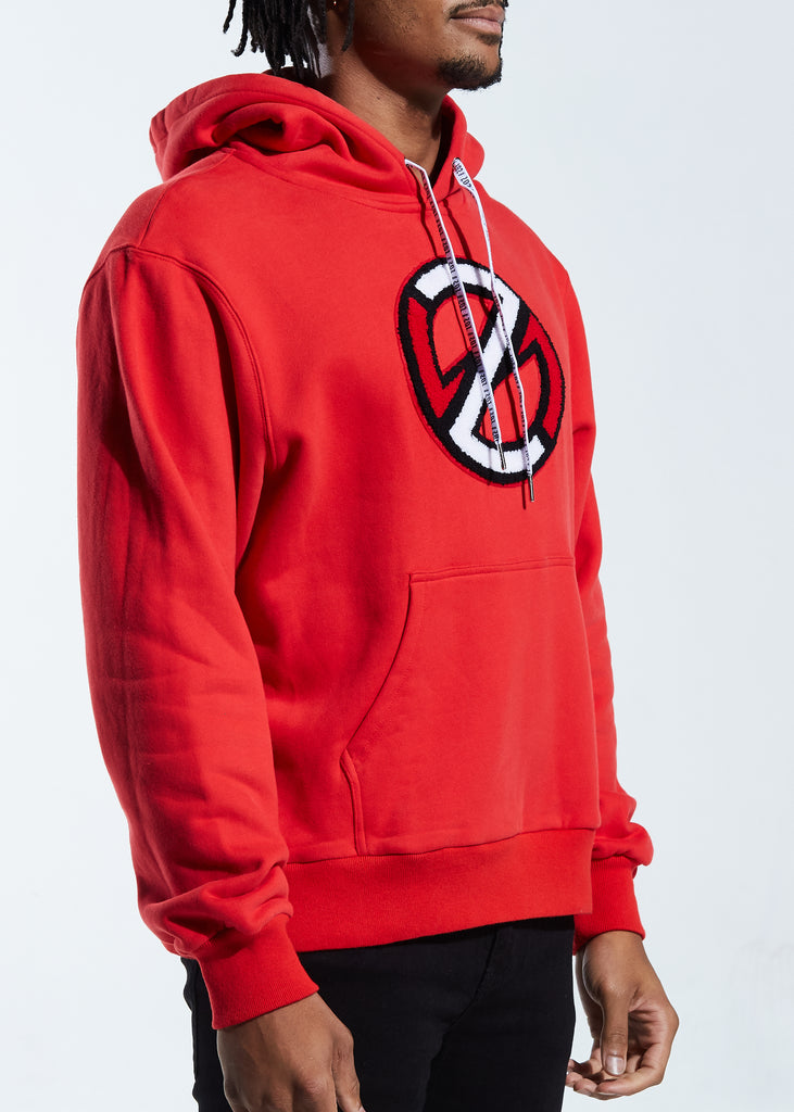 Clutch Pullover Hoodie (Red)