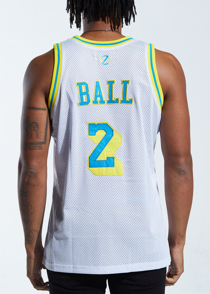 Ballers Basketball Jersey (White)
