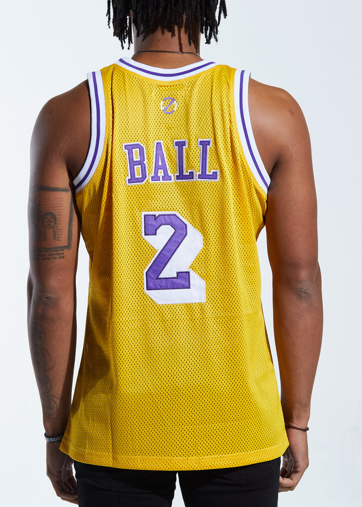 Ballers Basketball Jersey (Yellow)