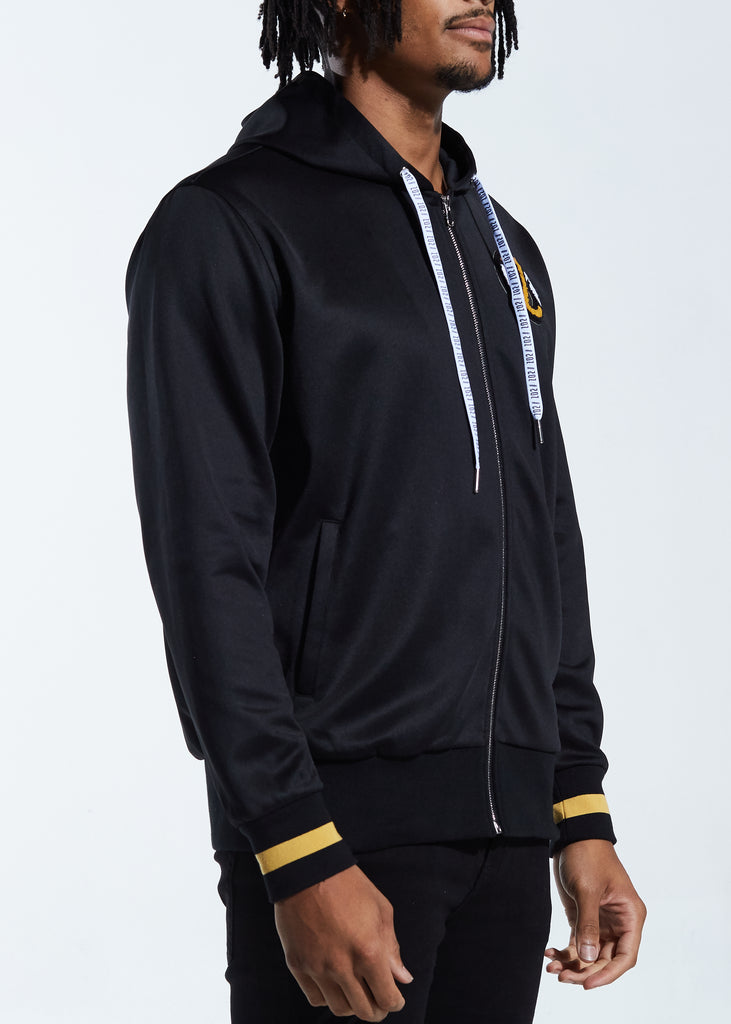 Showtime Track Jacket Hoodie (Black)