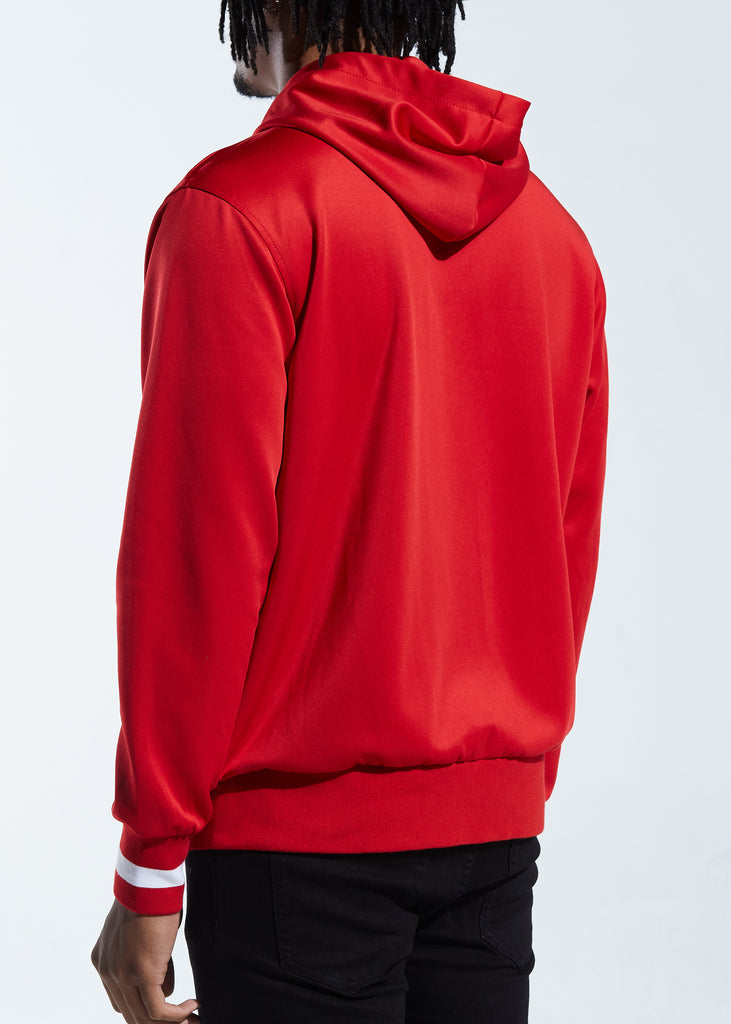 Showtime Track Jacket Hoodie (Red)