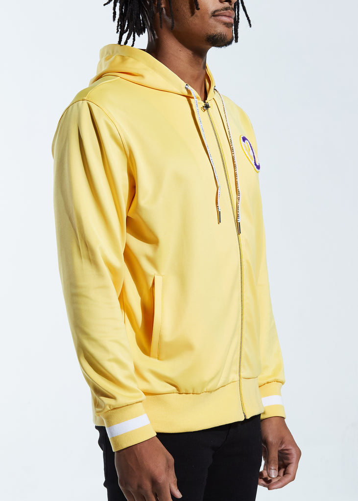 Showtime Track Jacket Hoodie (Yellow)