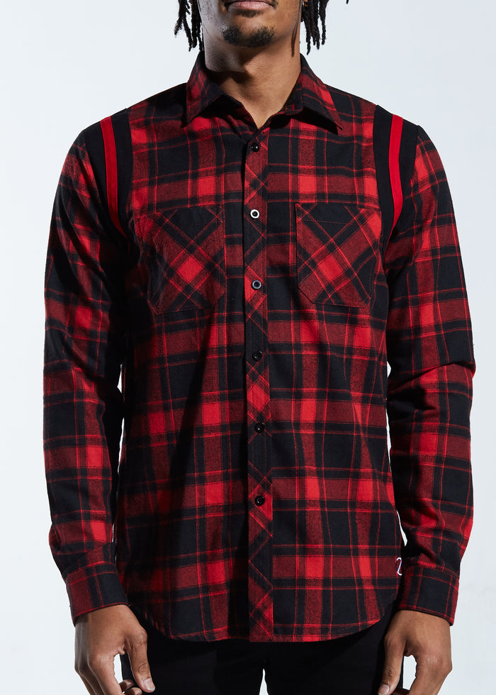 Postgame LS Flannel (Red)