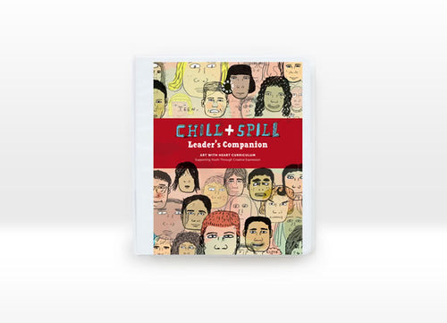 The Chill & Spill Leader's Companion is a teacher resource for using Chill & Spill a therapeutic book for teens to share their feelings, fears and frustrations.