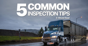 5 Common Inspection Tips