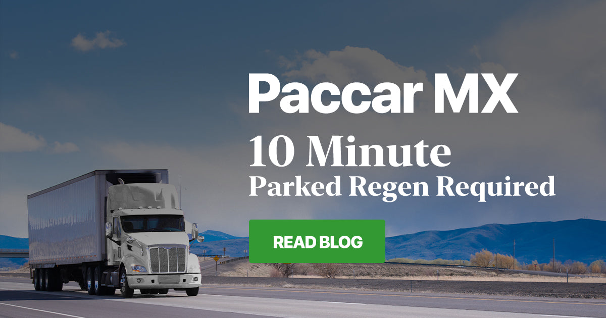 Paccar MX - 10 Minute Parked Regen