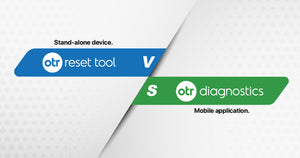 OTR Diagnostics vs OTR Reset Tool