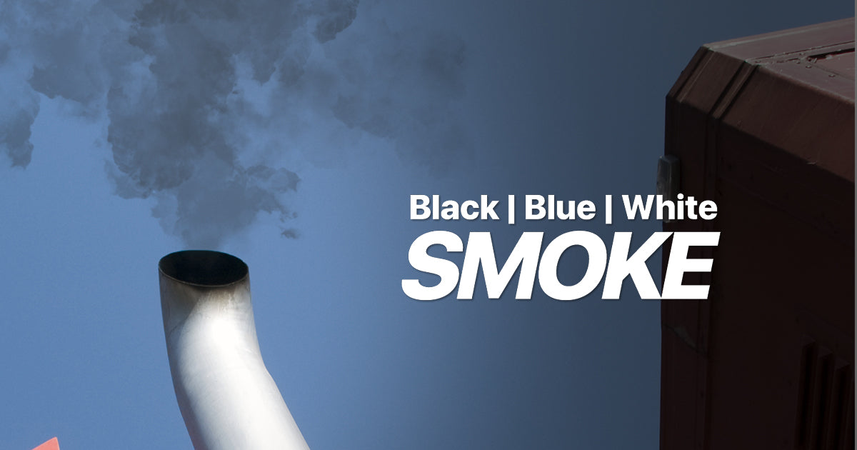 Black Smoke, White Smoke, Blue Smoke from Diesel Exhaust Explained