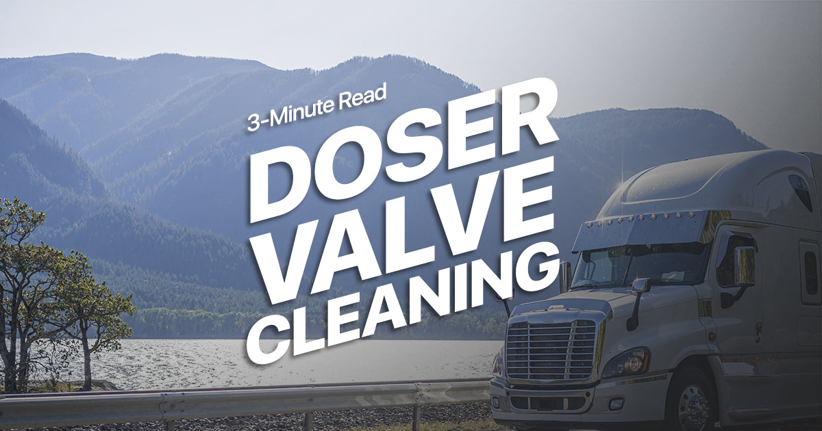 Doser Valve Cleaning (3-Minute Read)