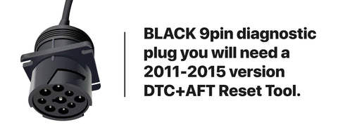 Black Paccar Diagnostic Plug