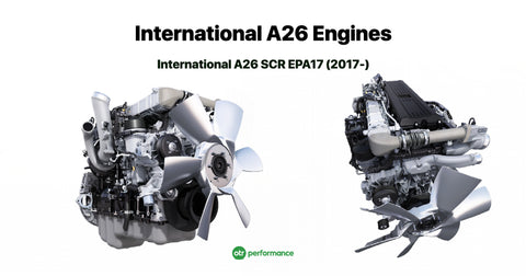 International A26 Engine Coverage