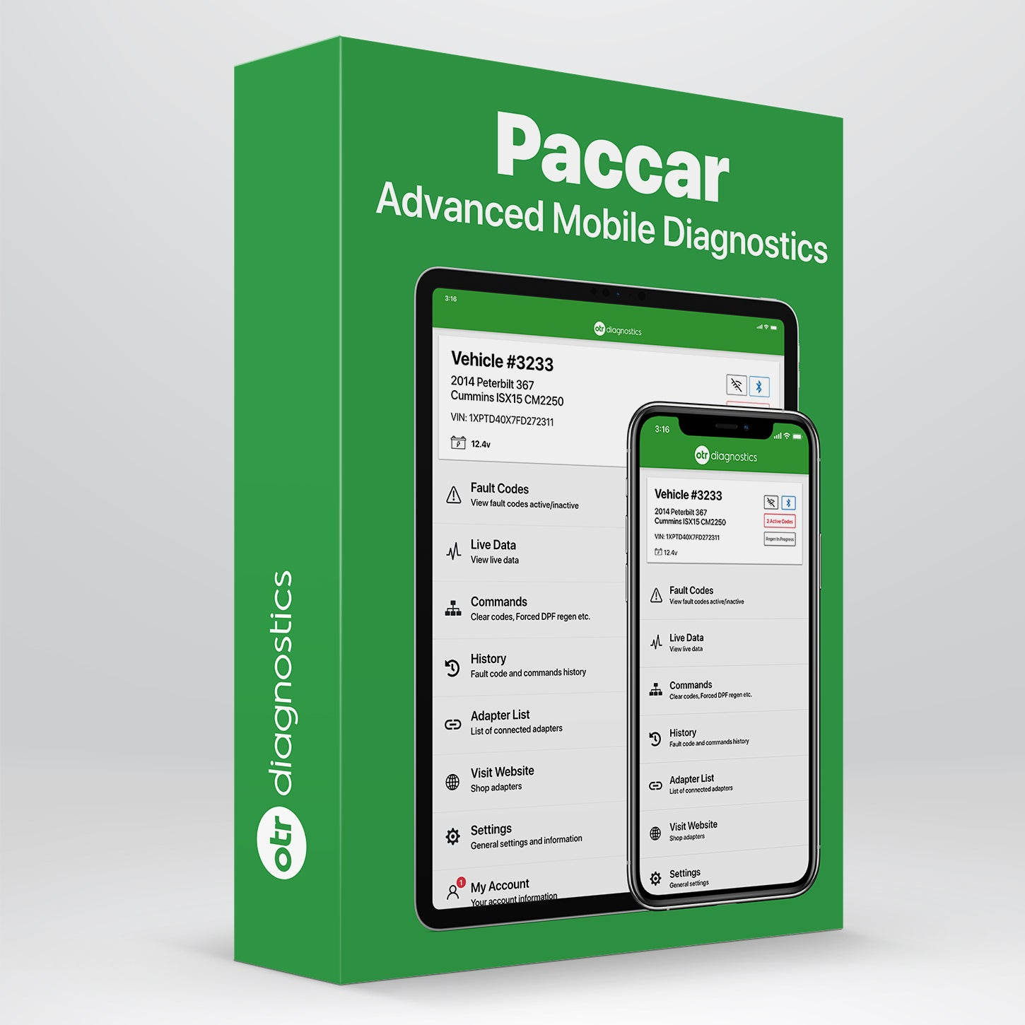 Paccar Diagnostic Package