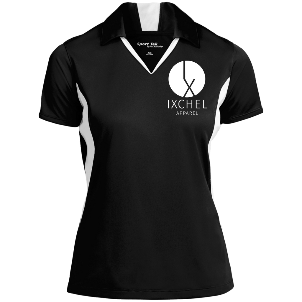 Ixchel Sport-Tek Ladies' Colorblock Performance Polo