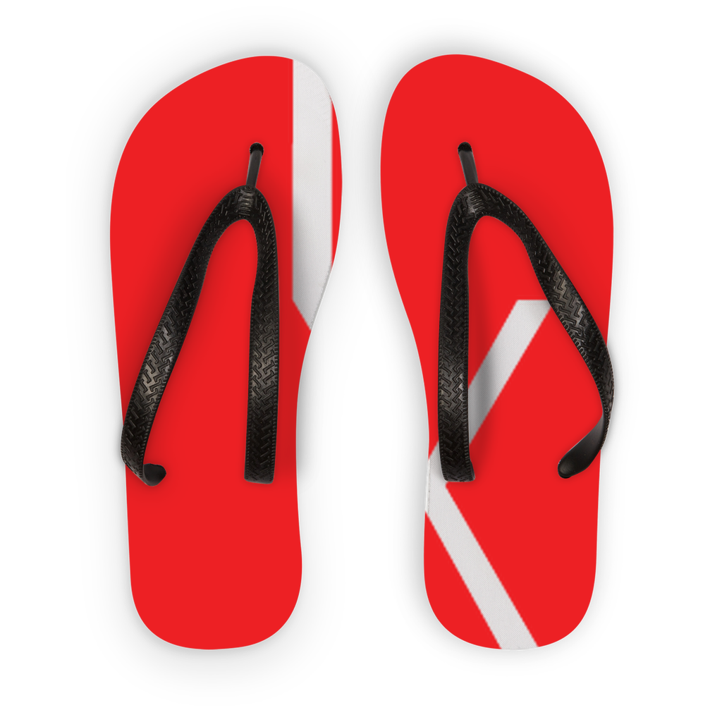 Ixchel Red Circle Kids Flip Flops