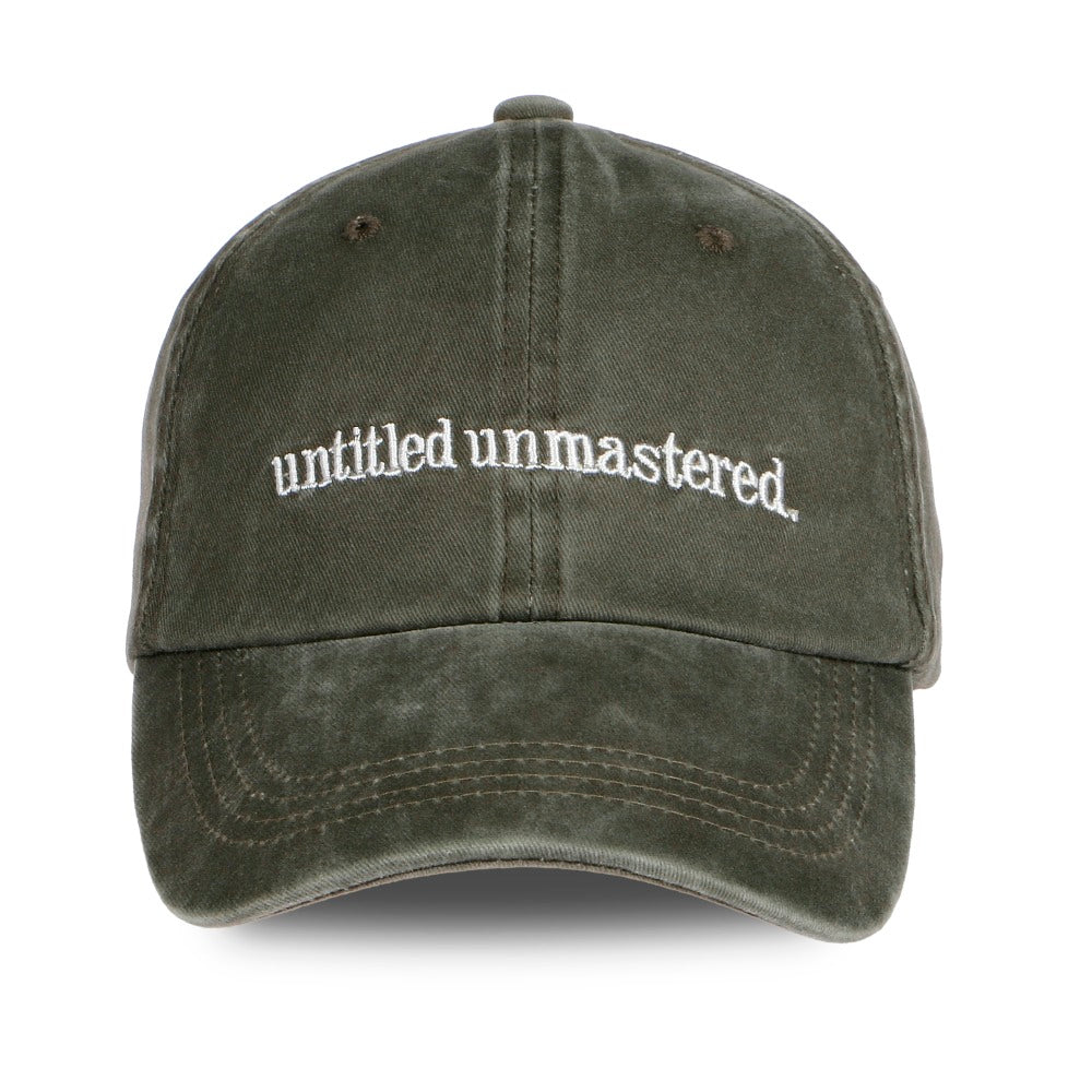 Kendrick Lamar Untitled Unmastered Dad Hat - High Fashion Contraband 221bb12207e