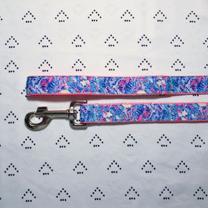 Lilly Pulitzer Mermaids Cove [New] Dog Leash