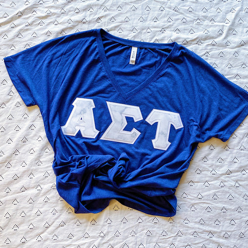 Marble Greek Letter Shirt