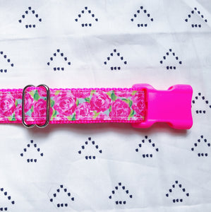 Lilly Pulitzer First Impression Dog Collar