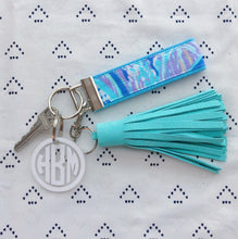 Lilly Pulitzer Aboat Time Key Fob Wristlet