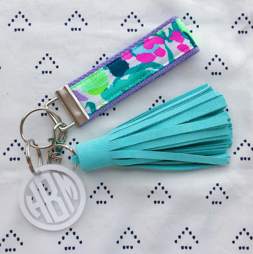 Lilly Pulitzer Early Bloomer Key Fob Wristlet