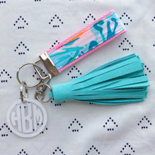 Lilly Pulitzer Out To Sea Key Fob Wristlet