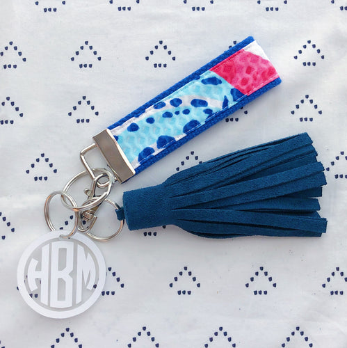 Lilly Pulitzer She She Shells Key Fob Wristlet