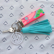 Lilly Pulitzer Ice Cream Social Key Fob Wristlet