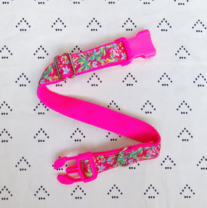 Lilly Pulitzer LuLu Flamingo Dog Collar
