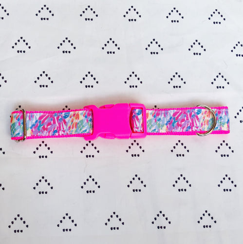 Lilly Pulitzer Sparkling Sands Dog Collar