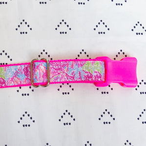 Lilly Pulitzer Let's Cha Cha Dog Collar