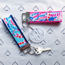 Lilly Pulitzer Shell Me About It Key Fob Wristlet