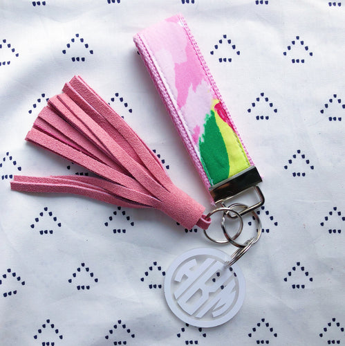 Lilly Pulitzer First Impression Key Fob Wristlet