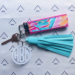 Lilly Pulitzer Peel N Eat Key Fob Wristlet