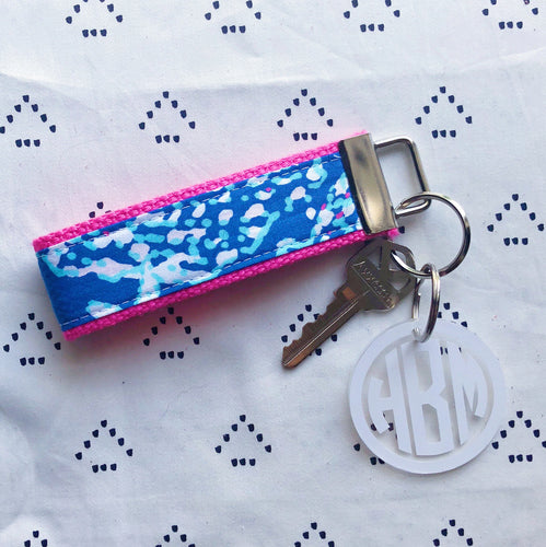 Lilly Pulitzer Good Reef Key Fob Wristlet