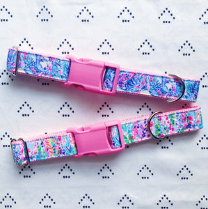 Lilly Pulitzer Catch The Wave Dog Collar