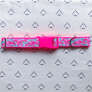 Lilly Pulitzer Lobstah Roll Dog Collar