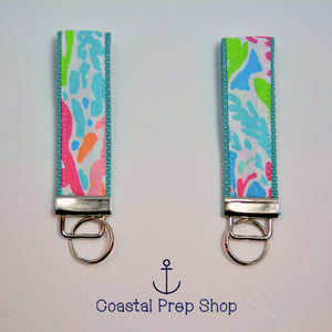 Lilly Pulitzer Lets Cha Cha Key Fob Wristlet