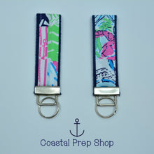 Lilly Pulitzer Multi Osterville Patch Key Fob Wristlet