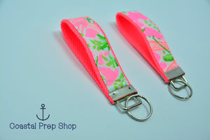 Lilly Pulitzer Nibbles Key Fob Wristlet