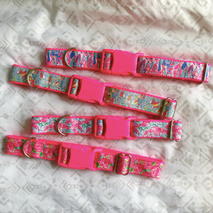 Lilly Pulitzer Out To Sea Dog Collar