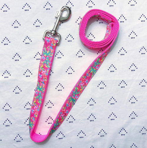 Lilly Pulitzer Lulu Flamingo Dog Leash